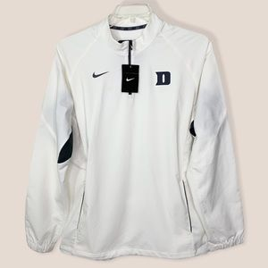 Rare Nike Duke Blue Devils Softball 1/4 Zip Pullover Windbreaker Jacket Size M
